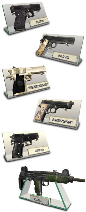 Gun Disassembly 3D